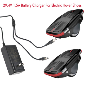 Wall mounted dual output 29.4V 1.5A li ion battery electric hovershoes charger